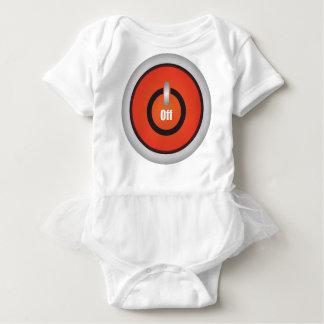 Esperanissa - switch off baby bodysuit