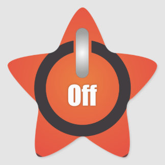 Esperanissa - switch off star sticker