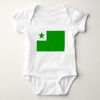 esperanto-Flag Baby Bodysuit