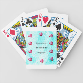 Esperanto International Language Design Bicycle Playing Cards