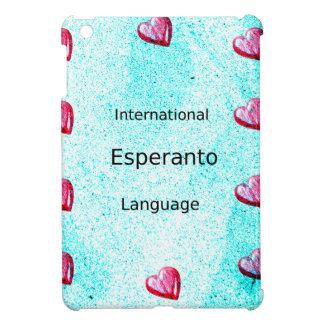 Esperanto International Language Design iPad Mini Cases
