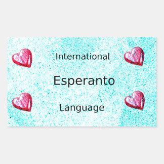 Esperanto International Language Design Sticker