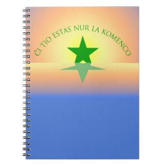 Esperanto: Just the Beginning Notebook