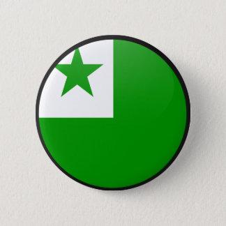 Esperanto quality Flag Circle 2 Inch Round Button