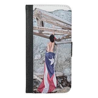 Esperanza - full image iPhone 6/6s plus wallet case