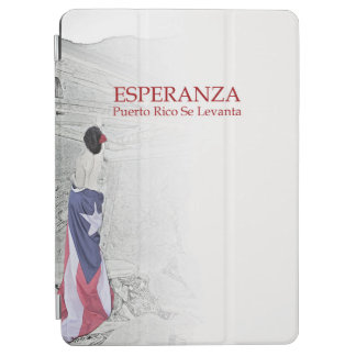Esperanza - image with text iPad air cover