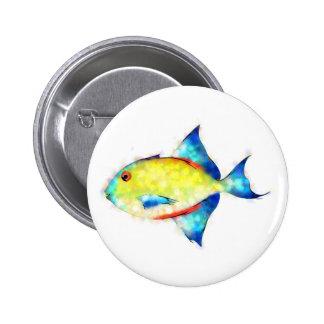 Esperimentoza - gorgeous fish 2 inch round button