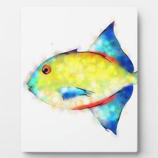 Esperimentoza - gorgeous fish plaque