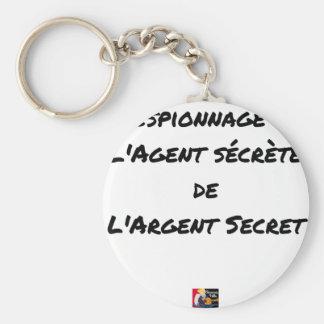 ESPIONAGE: THE AGENT SECRETES SECRET MONEY KEYCHAIN