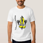 Espoir de Fleur De Lis Endometriosis Tee-shirts