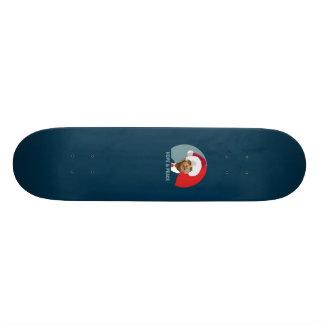 Espoir et paix d'Obama Mini Skateboard 18,4 Cm