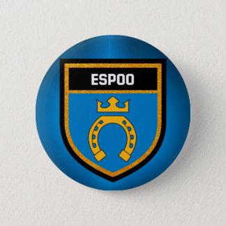 Espoo Flag 2 Inch Round Button