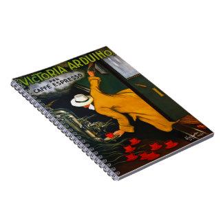 Espresso Ad 1922 Spiral Note Book