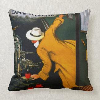 Espresso Ad 1922 Throw Pillow
