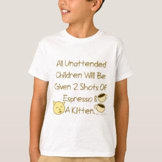 Espresso And A Kitten T-Shirt