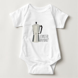 Espresso Anyone Baby Bodysuit