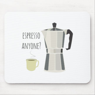 Espresso Anyone Mouse Pads