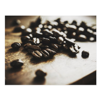 Espresso Coffee Beans Postcard