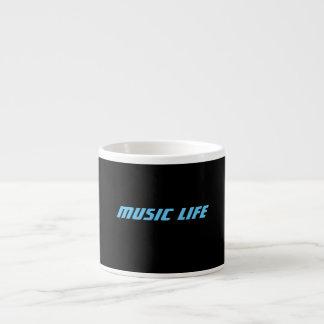 Espresso Coffee Mugs - Music Life Logo