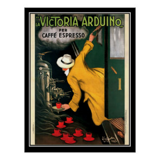 Espresso Coffee poster circa 1922