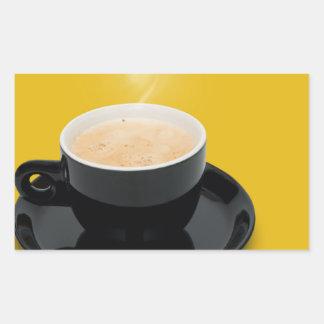 Espresso coffee sticker