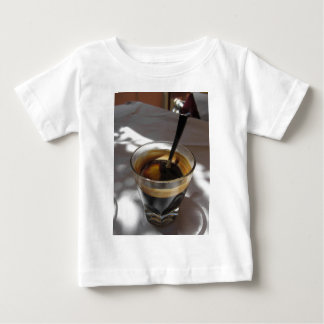 Espresso coffee with rum, sugar and lemon rind baby T-Shirt