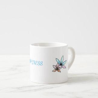 Espresso cup with inspiring  design