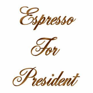 Espresso For President Standing Photo Sculpture