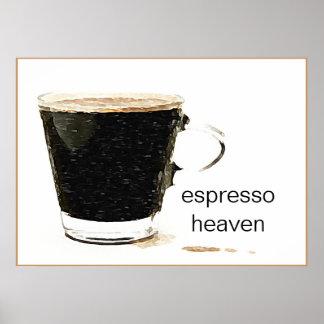 Espresso Heaven Poster Art