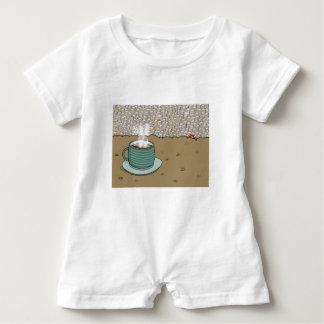 Espresso Hill Baby Romper