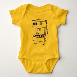 Espresso machine baby bodysuit
