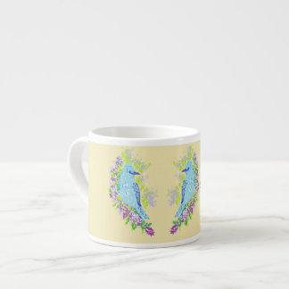 Espresso Mug/Blue Birds Espresso Cup