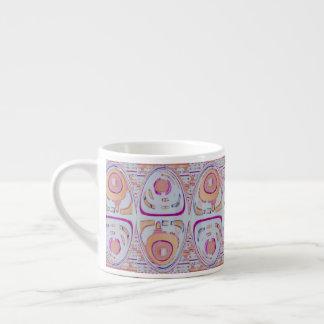 espresso mug contemporary pastel design