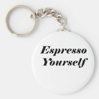 Espresso Yourself Keychain