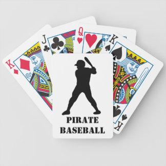 Esprit d'équipe de baseball jeu de cartes poker
