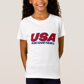 Esprit Team USA Racquetball Girls Baby Doll Tee
