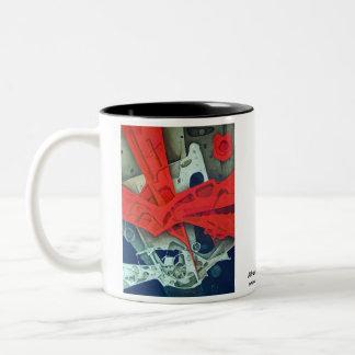 Espritu De La Luna Two-Tone Coffee Mug