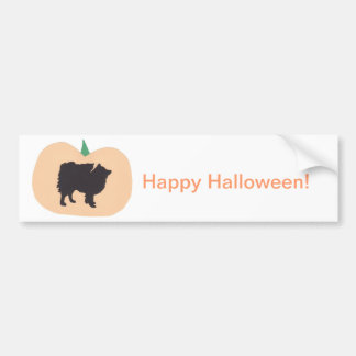 Esquimau heureux d'Américain de Halloween Autocollant De Voiture