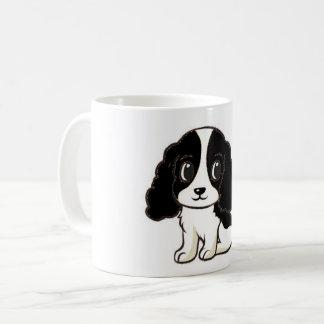 ess black white cartoon coffee mug