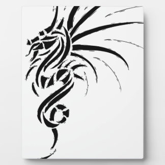 Essemios - furious dragon plaque
