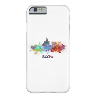 Essen skyline in watercolor barely there iPhone 6 case