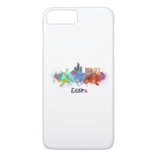 Essen skyline in watercolor iPhone 8 plus/7 plus case