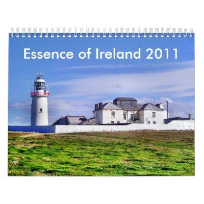 Essence de calendrier de l'Irlande 2011