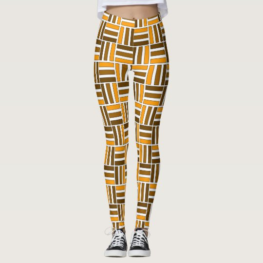 Essence of Africa Pattern Leggings