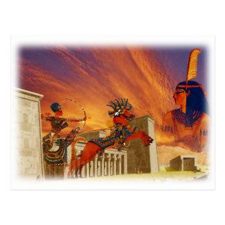 Essence of Egypt Postcard