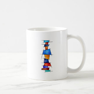 Esseniumos V1 - square abstract without back Coffee Mug