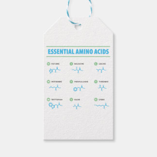 Essential Amino Acids Gift Tags