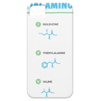 Essential Amino Acids iPhone 5 Cover