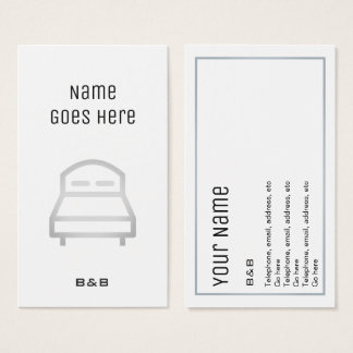 """Essential"" B&B Business Cards"