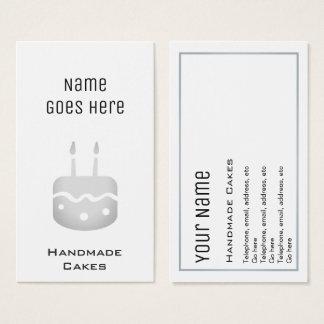 """""""Essential"""" Handmade Cakes Business Cards"""